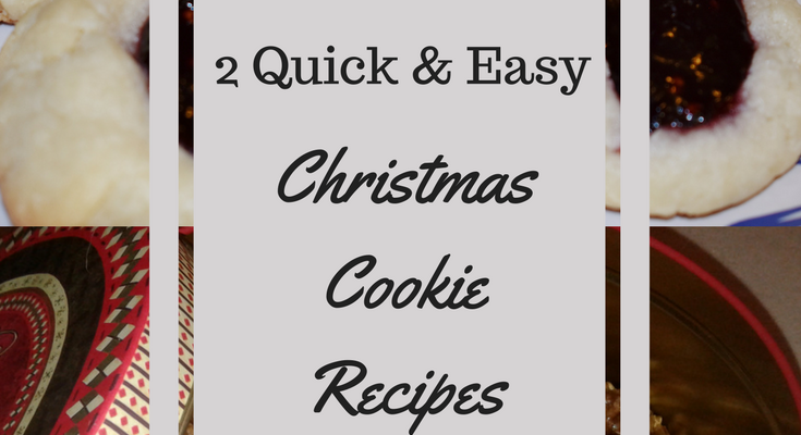 Two simple but delicious christmas cookie recipes life for Easy quick christmas baking recipes